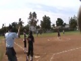 Umpire Gets Hit In The Balls