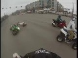 UAV Kamikaze Rider Picks Bike As Target