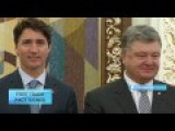 Ukraine And Canada Sign Free Trade Pact