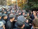 Ukrainian Soldiers Protest In Biggest Cities, Demand Demobilization