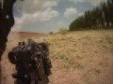 US Troops Get Ambushed. They Respond With AT-4 Impact Visible . Helmet Cam 1080p