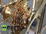 UK: See 24-carat GOLD Bike Worth More Than A Ferrari!