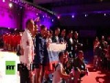 UK: Russian Sambo Team Batter GB, Winning Cup For Putin