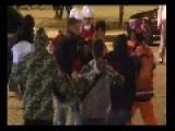 Ukrainian Patriots Sing National Anthem And Assault Innocent Bystanders