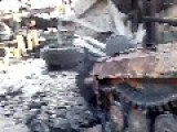 Ukrainian Positions After Arty Strike