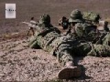 US Marines, JGSDF Shooting Drills. M24 Sniper Weapon System