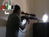 Ultra Sonic Scoped FSA-Sniper Hunting And Engaging