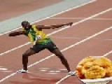 Usain Bolt Ate 100 Chicken McNuggets A Day In Beijing And Won Three Gold Medals