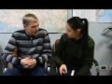 Ukranian Conscript Falls Asleep In A Bus And Ends In Novorrossia 28NOV2014
