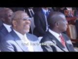 Ugandan President Yoweri Museveni Addresses Israeli Delegation At Entebbe Airport