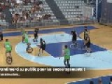 Unicycle Basketball Finals