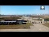 Ukraine - Ukrainian Pilots Escape With Aircraft As Russian Troops Take Over Airbase