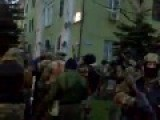 Ukraine: Assault On Police Head Quarter In Kramatorsk, Donetsk Oblast