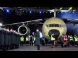 Ukraine: Presentation Of A New Antonov Plane