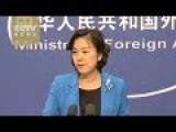 US Told By China To Respect Chinese Sovereignty And Territories