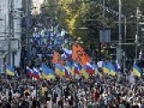Ukraine Crisis: Thousands March In Moscow Anti-war Rally