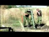 Ukraine News War Crisis - Russian Invaders Firing Mortars In Luhansk Oblast