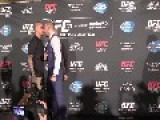 UFC CHAMP Gets Into A Fight At Press Tour In VEGAS = Ghetto Wild =