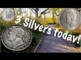 Unbelievable! I Tracked A WW2 Soldier Metal Detecting In England. Found 3 Silver Coins!!