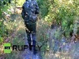 Ukraine: EXCLUSIVE Shots Of DNR DPR Fighters In Action At DONETSK AIRPORT