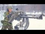 US Military GAU 19B 50 Cal Gatling Gun