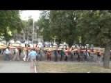 Ukraine War Banned March In Kharkiv