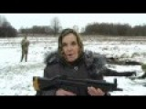 Ukrainian Grandma Says She Will Shoot Russia Invaders