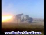 Ukraine - DNR Heroes Firing GRAD Rockets BM-21 At Ukrop Invaders