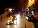 Video Of The Path Of Cars Through The Streets Of Masyaf In The Hama Now