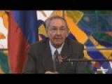 Vladimir Putin On Cuba With Raul Castro