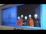 Videoconference With Berkut Drilling Platform Subtitles, HD