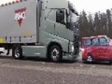 Volvo Truck Incredible Emergency Braking