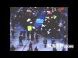 Vehicle Drives Through Protesters In Minneapolis