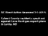 Video From Lusby, MD Calvert County Hearing On Cove Point Gas Fracking Plant
