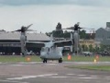 V-22 Osprey Demonstration - Farnborough Airshow 2012 Monday