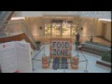 Vandals Destroy Display Made Of Canned Food At Gardens Mall