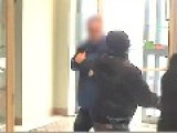 Violent Toronto Bank Robber Caught On Video