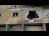 Video Purports To Show Pro-Assad Fighters Trapped In Building And Surrendering To Rebels In Northern Syria