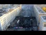 Very Cool Footage Taken From A Drone During Riots In Warsaw, 2011