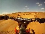Very Gnarly Dirtbike Cliff Drop Fail