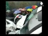 Video Shows China Motorway Pile-up Which Kills At Least Two