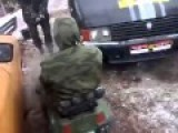 VIDEO Right Sector Trying Out New Assault Vehicle