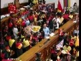 Venezuelans Dress Up In Black-face For Festival In Parliament