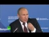 Vladimir Putin On US Foreign Policy Elite