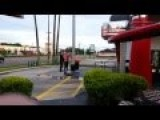Veterans Confront Checker's Manager Caught Flying Flag Upside Down