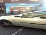 VIDEO Commuters Have Lucky Escape After Manhole EXPLODES During Rush Hour In Dublin City Centre