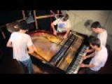 Very Cool! Some Musicians Dominate A Grand Piano