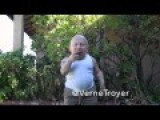 Verne Troyer ALS Ice Challenge With Horse Jizz