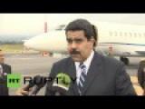 Venezuelan President Says US Is Violating Human Rights