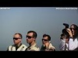VOLUME ! Fighter Jets Landing At USS George H.W. Bush CVN 77